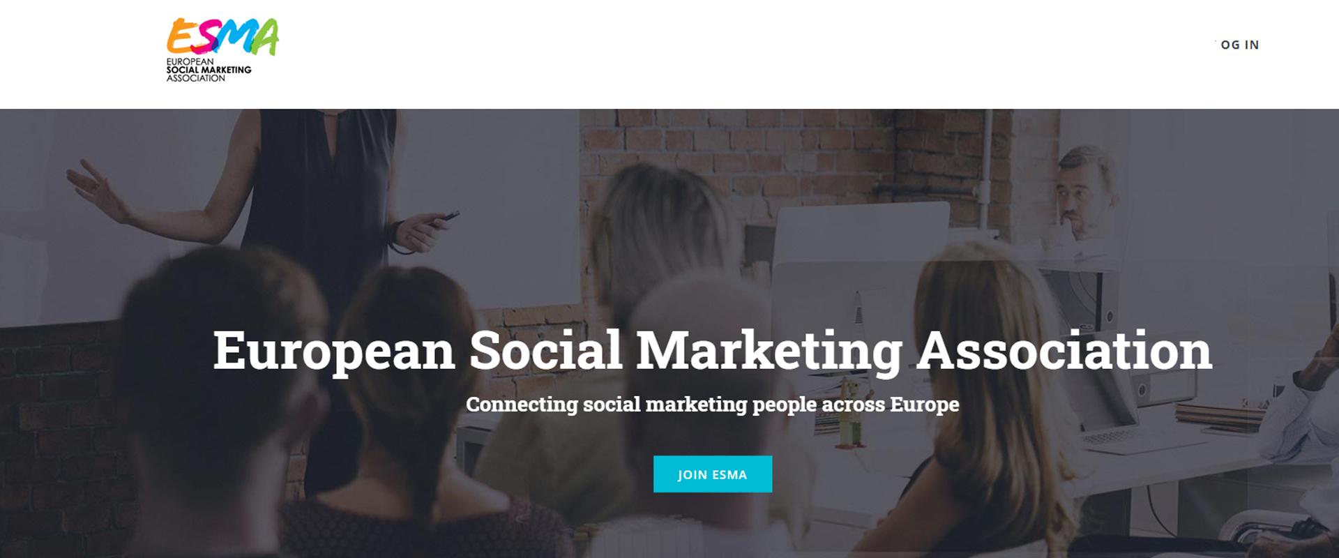 JOIN european social marketing association
